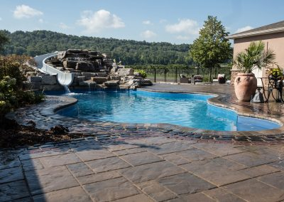 Swimming Pool, Patio, Water Features, Fire Place