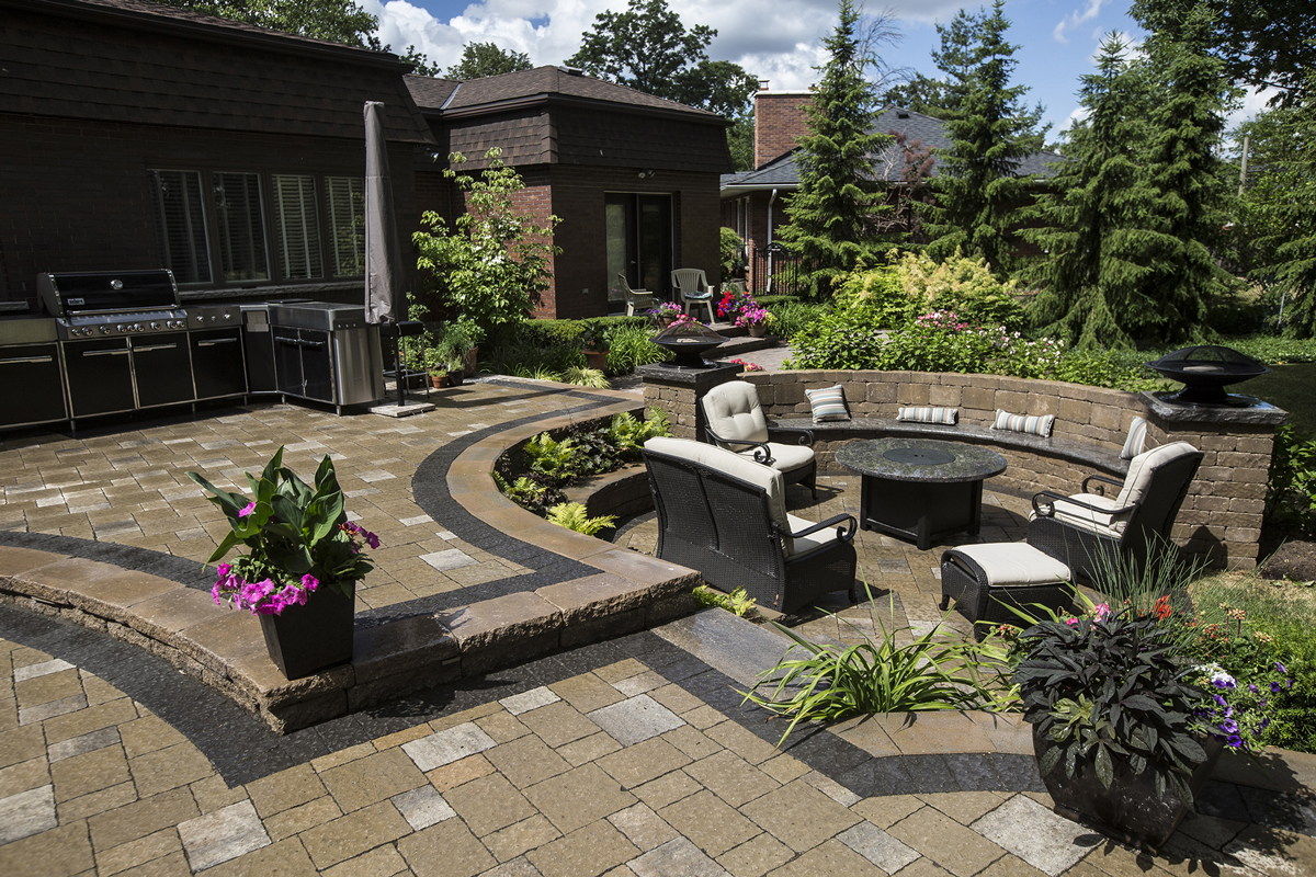 Patio, Water Features, Fire Place