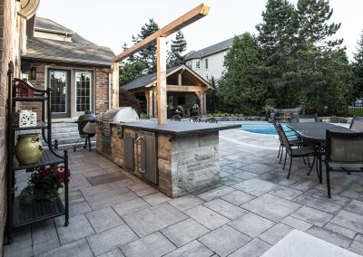 Landscape, Fireplace, Outdoor Kitchen